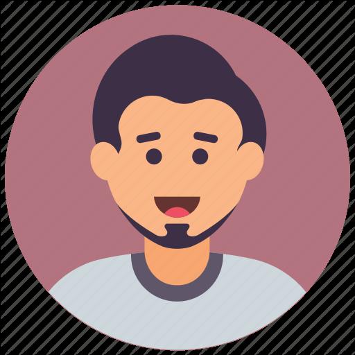 bearded man icon 64